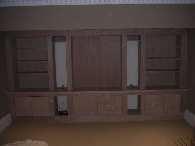 Cherry Wood File Cabinet
